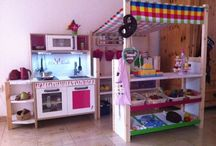 DIY Kinderküche & Kaufladen / Bau dir deine Kinderküche ..... hol dir Ideen und lege los!