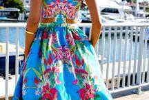 letní šaty..dlouhé..
