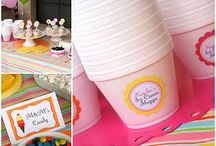 Ice Cream Party Ideas / by Stephanie Eckman