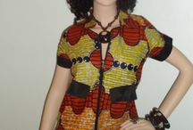 African Fabric - Shirts