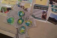 DIY cards | Pocket Page Scrapbooking / Inspiratie om zelf kaartjes te maken voor Project Life.