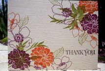 Stamping - Stampin Up  (Fabulous Florets)