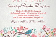 Baby shower for Amanda / by Jacquelyn Millsaps