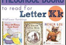 Letter K Preschool Unit / Letter K Preschool Unit with The Peaceful Preschool! #thepeacefulpreschool