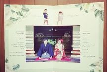 結婚式 プロフィールブック