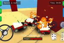 Blocky Demolition Derby - Overview, Android GamePlay HD