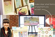 Craft Fair Display Ideas