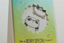 cards happy panda