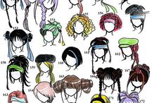 Hair ideas / hair styles for our rag dolls and dudes
