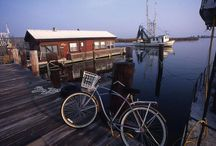 Apalachicola, Florida / One of my favorite places and the setting for several of my novels, including Man in the Blue Moon. / by Michael Morris