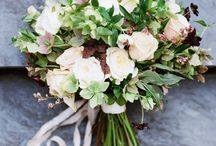 "Bouquet Inspiration: Garden Inspired / Inspiration for the Garden Inspired Design Style: Loose. Organic. Refined. Delicate. The Garden-Inspired design style celebrates the natural movement of flowers and foliage in a loose and organic structure. Key blooms in various intriguing textures and colors are highlighted in a foraged nest of unique greenery. This is Evergreen's signature design style, and the ""middle-of-the-road"" package."