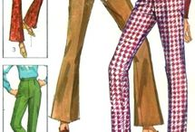 Vintage Sewing Patterns / Some of my favourite sewing patterns of the 60's. Fashion I would wear.