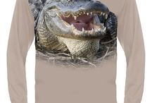 Hillman Alligator T-shirt / Show your passion & extraordinary fashion! Cover your body with cutting edge 3D Aligator t-shirt by HILLMAN®. Explore all 40+ iconic wildlife designs to show your passion and extraordinary fashion!