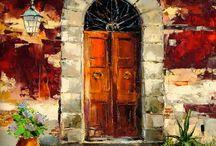Door Art / Paintings of Doors