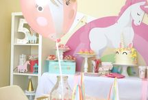 Magical Unicorn Birthday Party / Get all the magical details on @thecaterpiyears unicorn birthday party on our party ideas blog!