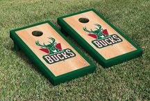 NBA - Milwaukee Bucks Tailgating Gear, Man Cave Decor and Car Accessories / Find the latest Milwaukee Bucks Tailgating Supplies, Decor for your NBA Man Cave, and Automotive Basketball Fan Gear for your car or truck