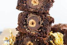 Rocher Brownies