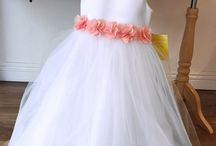 Create your own flower girl dress