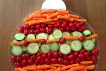 Plateaux de légumes