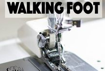 Walking foot