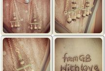 Jewels for you / Available right now at www.fromgbwithlove.bigcartel.com