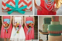 Coral and Turqoise Wedding Ideas