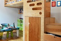 Kids Rooms / by Kimberly Freeman