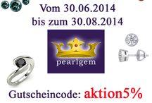 Aktionen / Rabattaktionen bei Pearlgem
