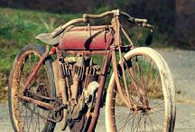 oue moterfiets