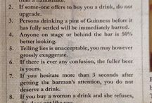 "Rules of the pub / The ""Ten Rules"" of the Merry Plouhboy have been viewed over a million times on the web"