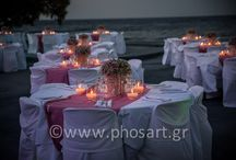 Romantic, Vintage Decoration  / Romantic decoration with baby roses and baby's breath