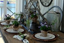 Tablescapes / by Ingrid Cordak