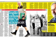 Dergi ve Gazete tasarımı Magazine and Newspaper