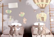 Wall decor toddler's room