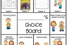 School - Choice Boards