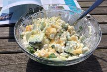 Lunch at home / Lekker lichte recepten voor als je tussen de middag eens geen zin hebt in een boterham (ook mee te nemen naar school of werk, natuurlijk)