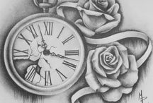 Clock tattoo