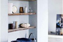 Zwevende plank gang & keuken