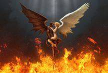 ♥Αγγελοι & δαιμονες...Angels & demons ♥ /   ♥Μέχρι να γίνουμε άγγελοι να βγάλουμε φτερά  ας μείνουμε με γρατσουνιές στους ώμους και στην πλάτη♥