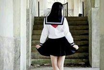 세라복(Sailor Suit) / or school uniform