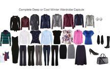 deep winter color