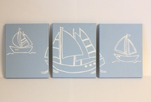 Nautical Themed Baby Boy Room / by Jess K