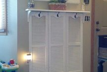 These old shutters / Old southern charm....