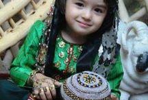 türkmenistan elbiseleri