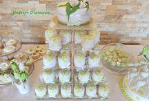 Sladký bar / Svatební dort, dezerty v barvě svatby nebo rodinné oslavy