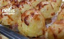top patates  fırinda
