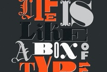 Graphic Design: Typography / by Didi Kasa