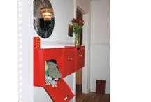 Alternative bruksområder for postkasser / Postkasser har mange bruksområder. Gamle og velbrukte postkasser er flotte i de fleste omgivelser.