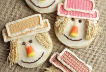 decorated biscuts