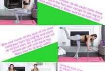 Natalie Hill chair workout